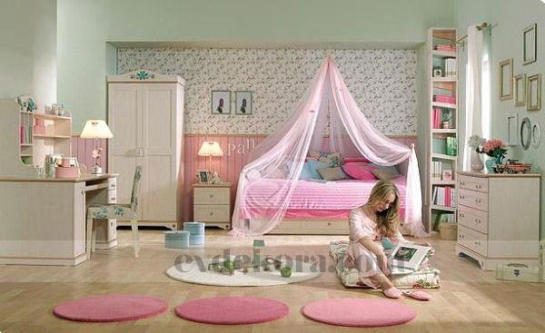 Sadece genç bayanlara özel oda tasarımları