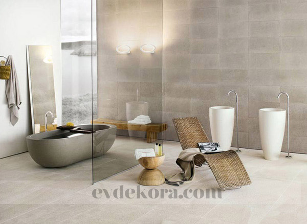 Nce ve k banyolar banyo for Bathroom tile designs 2012