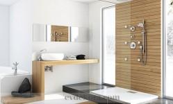 Modern banyo dekorasyonları