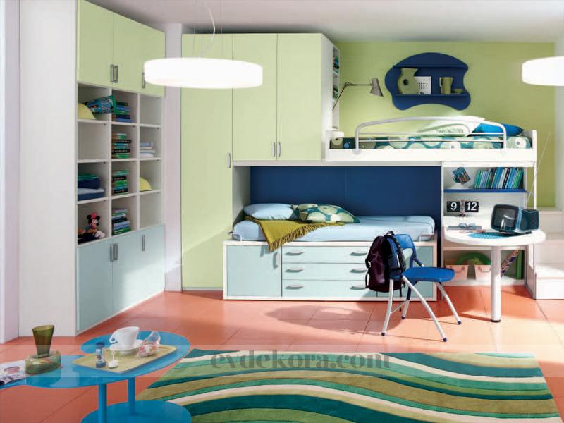 Renkli Ve Işıl Işıl Çocuk Odaları